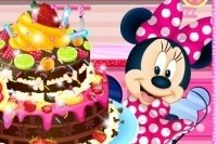 Minnie Mouse Chocoladetaart
