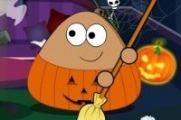 Pou Halloween Opruiming